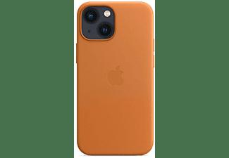 APPLE Leder Case mit MagSafe in Goldbraun für iPhone 13 mini