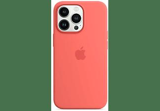 APPLE Silikon Case mit MagSafe in Pink Pomelo für iPhone 13 Pro