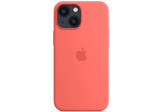 APPLE Silikon Case mit MagSafe in Pink Pomelo für iPhone 13 mini