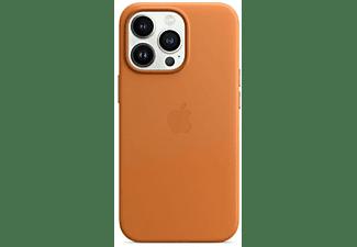 APPLE Leder Case mit MagSafe in Goldbraun für iPhone 13 Pro