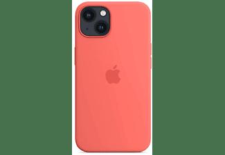 APPLE Silikon Case mit MagSafe in Pink Pomelo für iPhone 13