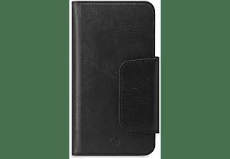 CELLY Bookcase DUOMO für Smartphones bis 5.8 Zoll, Schwarz