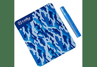 CELLY Reinigungsspray 10ml inkl. Mikrofasertuch, Blau