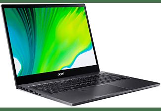 ACER Convertible Spin 5 SP513-55N-75MQ, i7-1165G7, 16GB RAM, 1TB SSD, 13.5 Zoll Touch QHD, Grau