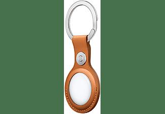 APPLE AirTag Schlüsselanhänger, Goldbraun