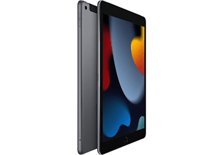 "Apple iPad (2021 9ª gen, 256 GB, Gris espacial, WiFi + Cell, 10.2"", Retina, Chip A13 Bionic, iPadOS"