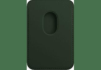 APPLE iPhone Leder Wallet mit MagSafe, Schwarzgrün