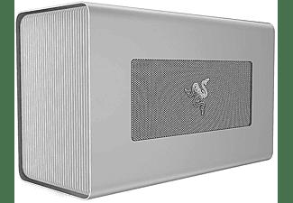 RAZER Grafikkarten Gehäuse Core X - Mercury, Thunderbolt 3, 650W, USB-C mit 100W, Silber