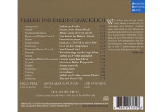 Anna Maria Friman;Lee Santana;Perl Hille;The Sirius Viols - Verleih Uns Frieden Gnädiglich [CD]