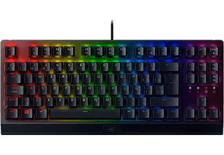 Teclado gaming - Razer BlackWidow V3 Tenkeyless, USB, Retroiluminación Chroma RGB, Mecánico, Negro