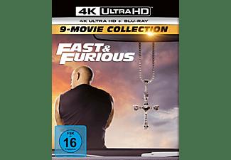Fast & Furious-9-Movie Collection [4K Ultra HD Blu-ray + Blu-ray]