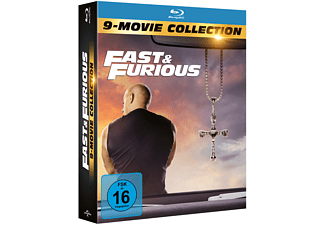 Fast & Furious - 9-Movie Collection Blu-ray