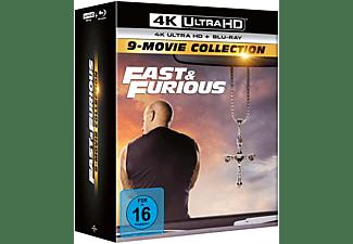 Fast & Furious - 9-Movie Collection 4K Ultra HD Blu-ray + Blu-ray