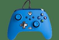Mando - PowerA Enhanced, Para mando Xbox Series X/S, Cable, USB, Jack 3.5 mm, Azul