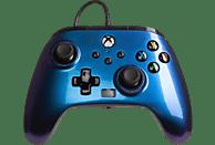 Mando - PowerA Enhanced, Para mando Xbox Series X/S, Cable, USB, Jack 3.5 mm, Nebula