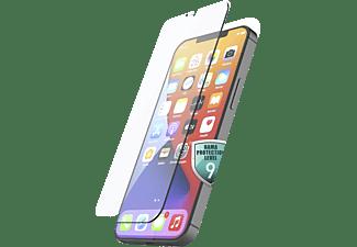 HAMA Echtglas-Displayschutz Premium Crystal Glass für Apple iPhone 13/ 13 Pro