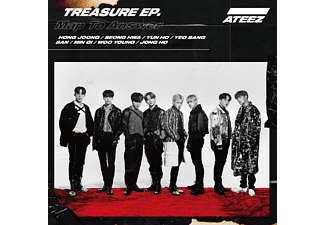 Ateez - Treasure EP-Map To Answer-Limited Japan Version [CD]