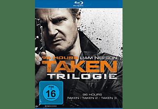 96 Hours-Taken 1-3 BD-Box [Blu-ray]