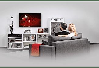 "Soporte TV - Hama XL Slim 00108771, Fijo, Pantalla ultraplana de 32"" a 75"", VESA 600x400 mm, Negro"