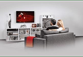"Soporte TV - Hama 00118641, De 19"" a 48"", Para pantallas ultraplanas, VESA 200 x 200, Nivel de burbuja, Negro"