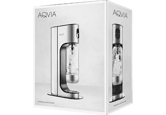 AQVIA Soda Maschine Exclusive Stainless Steel