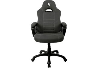 AROZZI Gaming Sessel Vernazza Soft Fabric, Bis 95kg, Schwarz/Grau