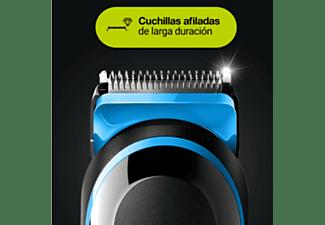 Barbero - Braun MGK5265 8 En 1, Para barba, Cortapelos Y Recortadora Facial Hombre, 6 Accesorios, Negro