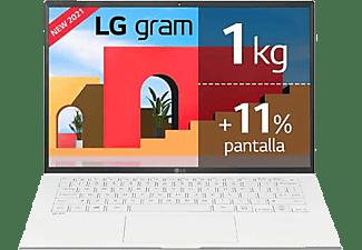 "Portátil - LG Gram 14Z90P-G.AA57B, 14"" WUXGA, Intel® Evo™ Core™ i5-1135G7, 16GB RAM, 512 GB SSD, Iris® Xe, W10"