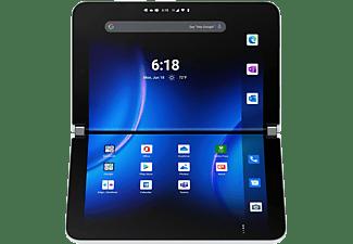 MICROSOFT Surface Duo 2, Convertible mit 8,3 Zoll Display, 8 GB RAM, 128 GB SSD, Gletscher