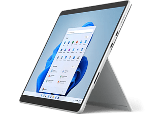 MICROSOFT Surface Pro 8, i5-1135G7, 16GB RAM, 256GB SSD, 13 Zoll Touch 2K, Win11, Platin