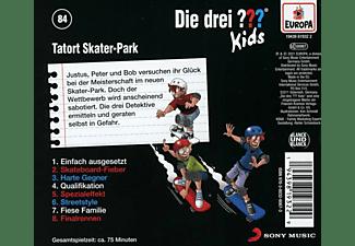 Die Drei ??? Kids - Folge 84: Tatort Skater-Park [CD]