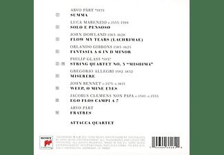 Attacca Quartet - Of All Joys [CD]