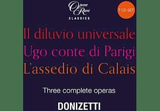 Carella,Giuliano/Francis,Alun/Parry,David/LPO/POL - Donizetti: Three Complete Operas [CD]