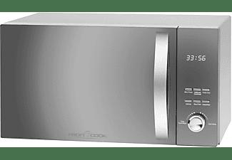 PROFI COOK Mikrowelle mit Grill und Heißluft PC-MWG 1176 H silber
