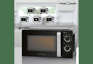 PROFI COOK Mikrowelle mit Grill PC-MWG 1208 schwarz
