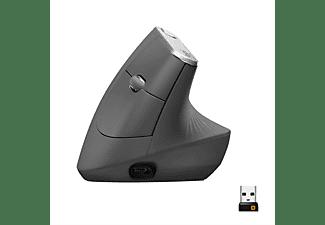 LOGITECH Ergonomische Maus MX Vertical, schwarz (910-005448)