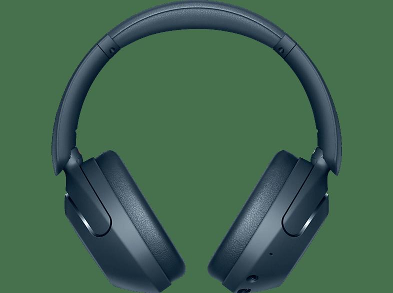 SONY WH-XB910N Noise Cancelling, Over-ear Kopfhörer Bluetooth Blau