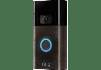 RING Video Doorbell Gen. 2 - Türklingel, FHD, WLAN, Bewegungserkennung, Nachtsicht, Venezianische Bronze