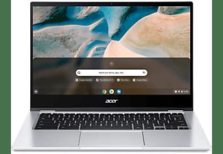 ACER Chromebook Spin 514 CP514-1H-R79Q, R3-3250C, 8GB RAM, 128GB SSD, 14 Zoll Touch FHD, Silber