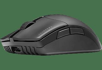 CORSAIR Gaming Maus Sabre RGB Pro Wireless, Bluetooth/USB, 26000 dpi, 7-Tasten, RGB-LED, Schwarz