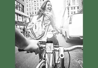CELLY Fahrradhalterung SWIPEBIKE für Smartphones bis 6.5 Zoll, Grau