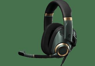 EPOS Gaming Headset H6 Pro mit geschlossener Akustik, Over-Ear, 3.5mm, Racing Green