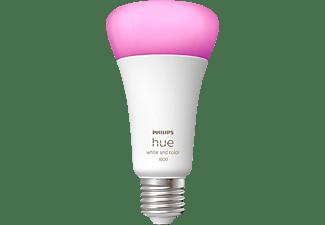 PHILIPS Hue White & Col. Amb. E27 Einzelpack LED Lampe Mehrfarbig