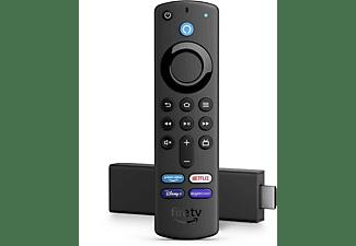 AMAZON Fire TV Stick 4K mit Alexa-Sprachfernbedienung (mit TV-Steuerungstasten)   2021
