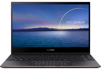 ASUS Convertible ZenBook Flip 13 mit NumberPad, i7-1165G7, 16GB, 512GB, 13.3 Zoll UHD OLED, Jade Black