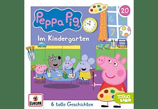Peppa Pig Hörspiele - Folge 20: Im Kindergarten [CD]