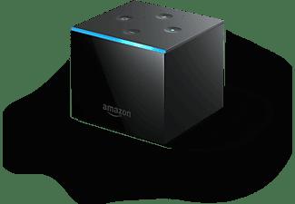 AMAZON Fire TV Cube (2021) mit Alexa-Sprachfernbedienung, Ultra HD, schwarz