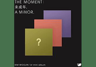 Woo Jin Kim - Moment: Underage,a minor-Inkl.Photobook [CD + Buch]
