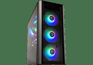 PROWORX Gaming PC Pro.G+ 8478, R7-5800X, 32GB RAM, 1TB SSD, 3TB HDD, RTX 3080Ti, Wasserkühlung, Schwarz