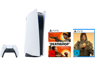 SONY PlayStation®5 + DEATHLOOP + DEATH STRANDING DC (NUR ONLINE)